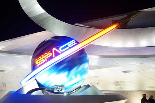 Mission: Space - you better press the buttons at the right time, or else!