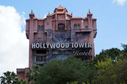 The Hollywood Tower Hotel contains one of the best pre-shows on Disney property.