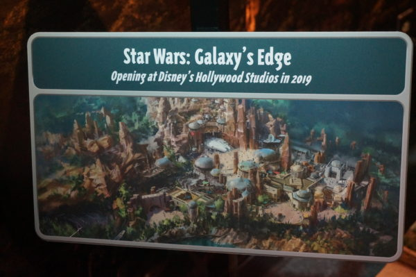 Imagineers say they're using elevation increases to allow for better viewing of the new Star Wars: Galaxy's Edge.