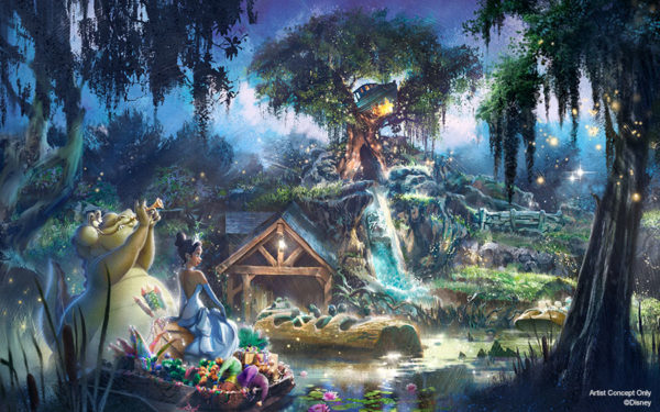 Splash Mountain will soon get a makeover based on Princess and the Frog. Photo credits (C) Disney Enterprises, Inc. All Rights Reserved
