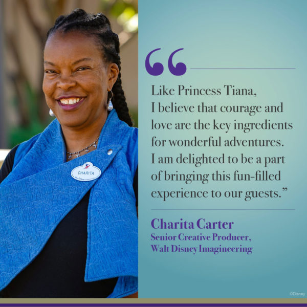Disney Imagineer Charita Carter will lead the effort to make over Splash Mountain. Photo credits (C) Disney Enterprises, Inc. All Rights Reserved
