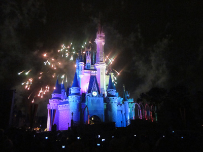 What could be more romantic than Cinderella Castle?
