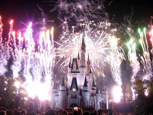 Wouldn't it be romantic to get engaged during Wishes Fireworks Spectacular?