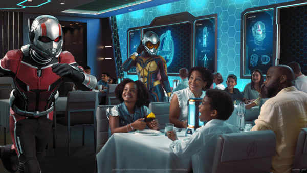 Join Ant Man for dinner! Photo credits (C) Disney Enterprises, Inc. All Rights Reserved