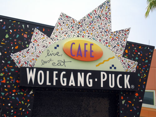 Wolfgang Puck Express - great good and a good financial value for the dining plan.