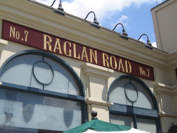 Raglan Road will open June 10.