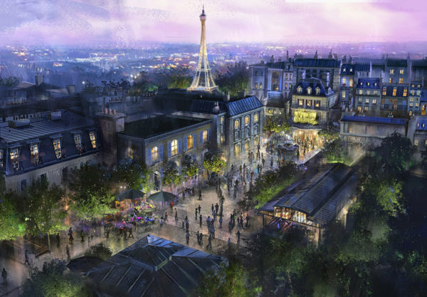 The Epcot France pavilion will get a Ratatouille ride. Photo credits (C) Disney Enterprises, Inc. All Rights Reserved.