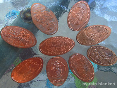 Disney World Pressed Pennies