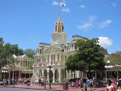 Walt's Main Street is always picture-perfect.