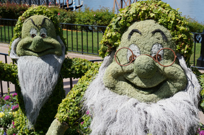 Aren't these topiaries great?