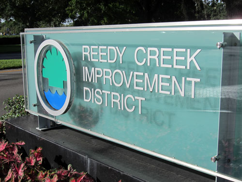 Disney's Reedy Creek Improvement District is like a private government.