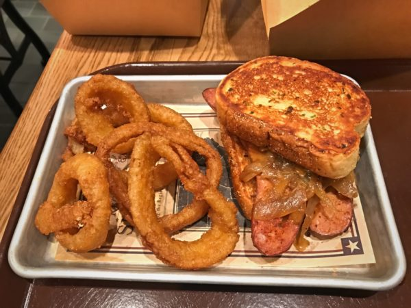 The sandwiches were terrific. I highly recommend the onion rings.