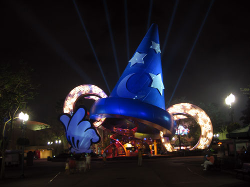 Disney will remove the sorcerer's hat in 2015.