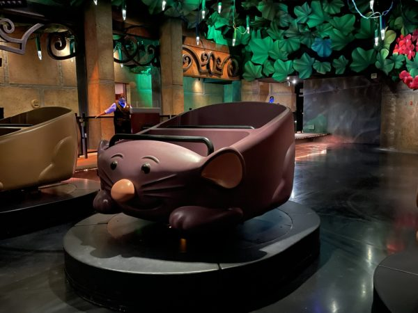 The ride vehicles look like cute rats!