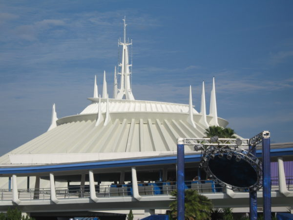 Space Mountain will reopen with the Magic Kingdom.