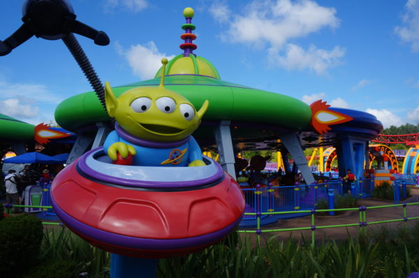 Alien Swirling Saucers will reopen with Disney's Hollywood Studios.