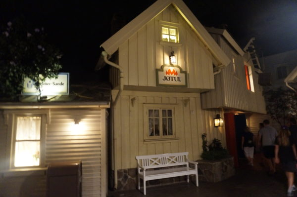 Inside Maelstrom, you felt like you were on a Norwegian street at dusk. It was beautiful!