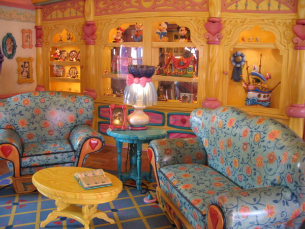 Minnie's house was on display in Mickey's Toontown Fair.