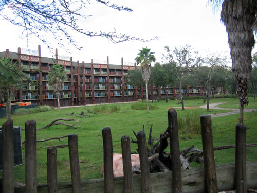 A visit to Animal Kingdom Lodge is like going on a safari.