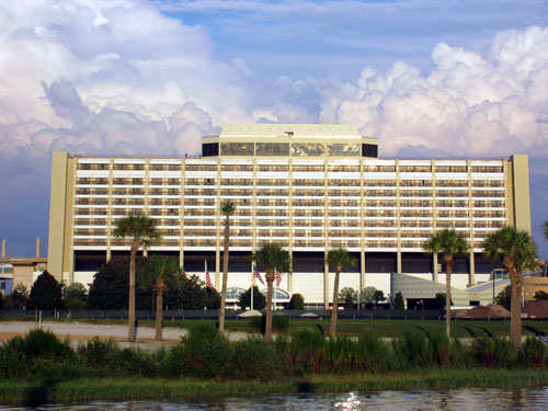 The Contemporary Resort is iconic and synonymous with Disney style.