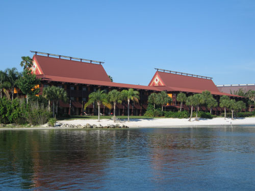 Set said for south seas at the Polynesian Village Resort.