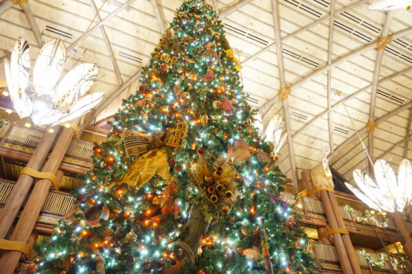 This beautiful tree is at Disney's Animal Kingdom Lodge!