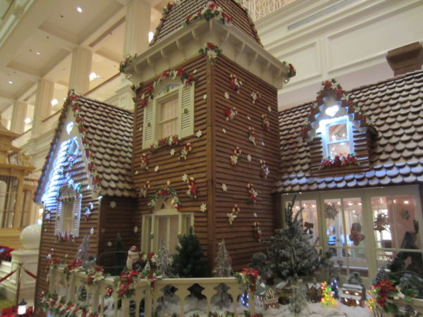 Disney pastry chefs transform the lobby of the Grand Floridian into a whimsical winter wonderland.