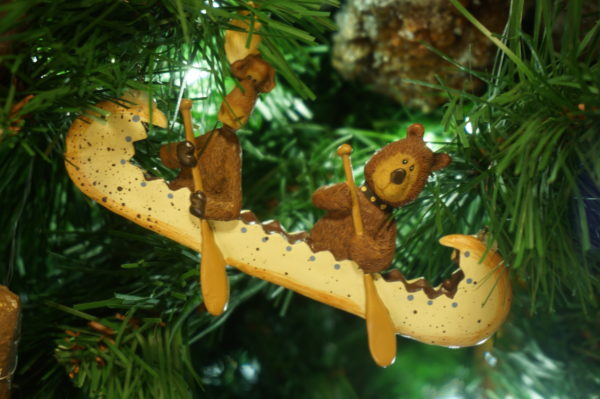 Look at this cute ornament on the tree at Fort Wilderness!