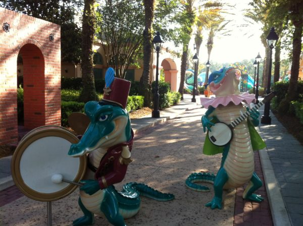 Port Orleans Resort feels like Mardi Gras all year!