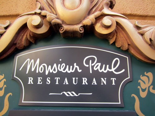 Monsieur Paul offers fine French food.