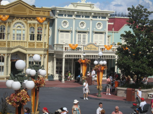 Main Street is open for business even before any other attractions in the park!