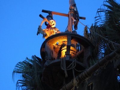 The Pirates Of The Caribbean is a classic ride, is lots of fun, and it normally has short lines.