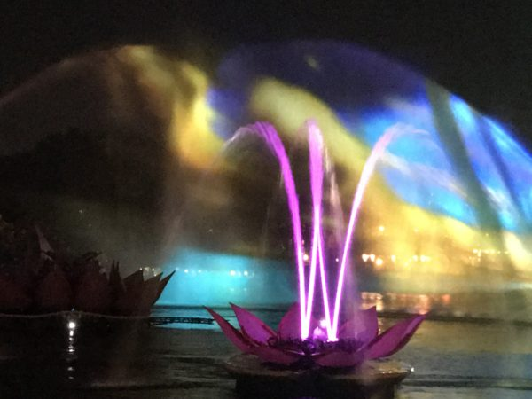 Rivers of Light Dessert Party offers great views of the show!