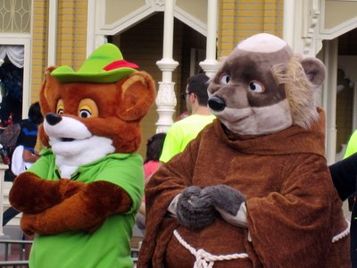 Robin Hood and Friar Tuck
