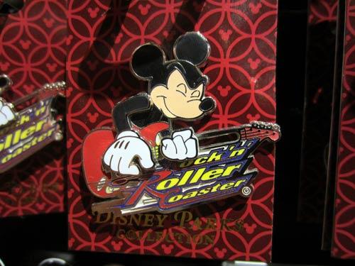 Mickey Aerosmith pin.