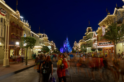 This is what Main Street looks like at 6 AM.
