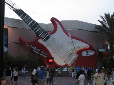 Rock N Roller Caster is a great thrill ride with speed and twists.