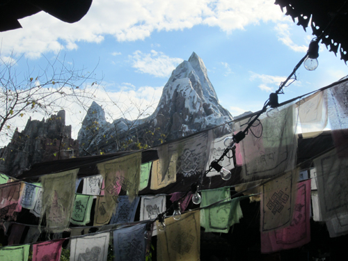 The prayer flags in Asia add to the romantic ambiance.
