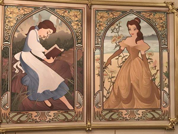Belle started as a modest providential girl and became a princess!