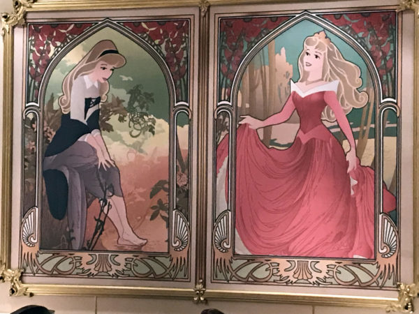 Sleeping Beauty started as princess but became a regular townsperson to save her life. Fortunately, she became a princess again!