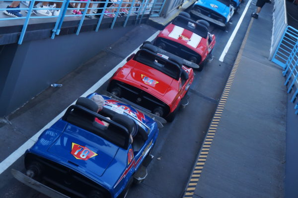 The Tomorrowland Speedway will continue to be loud and stinky for the foreseeable future.
