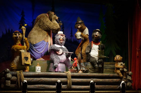 The Country Bears will continue to delight audiences through the 50th Anniversary celebrations.