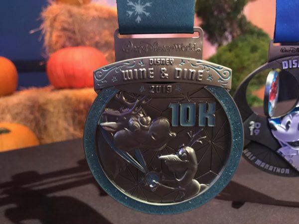 Disney Wine & Dine 10k Medal