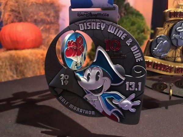Disney Wine & Dine Half Marathon Medal