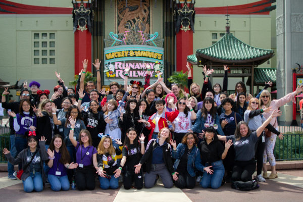 Osceola County School for the Arts visit Hollywood Studios. Photo credits (C) Disney Enterprises, Inc. All Rights Reserved