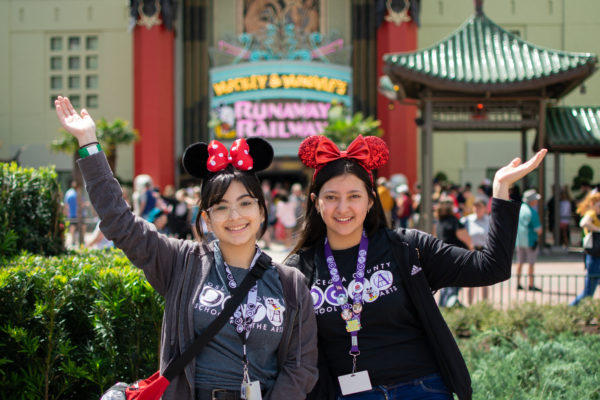 It looks like the art students had a great day! Photo credits (C) Disney Enterprises, Inc. All Rights Reserved