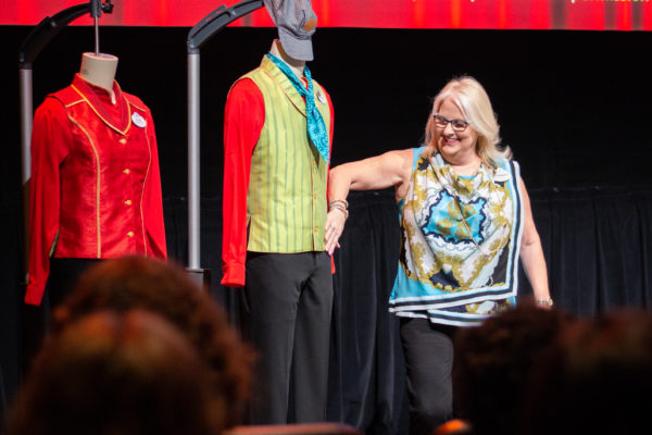 Cast Members also explained how Disney created the costumes for the attraction. Photo credits (C) Disney Enterprises, Inc. All Rights Reserved
