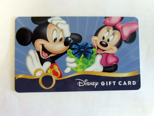 You can save money when you purchase Disney gift cards.
