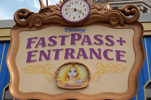 If you can, book your FastPass+ reservations early in the day.