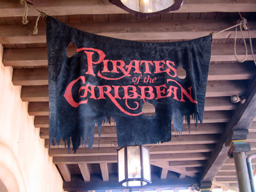 Pirates of the Caribbean can be a little scary.